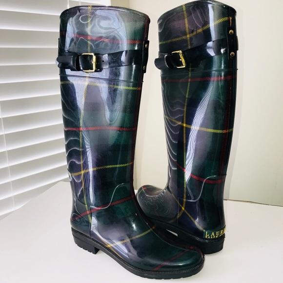 80b0390f3d52 Lauren Ralph Lauren Shoes - Lauren Ralph Lauren Rossalyn II Rain Boots
